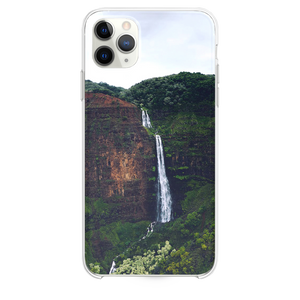 waterfalls at the forest during day iPhone 11 Pro Max case