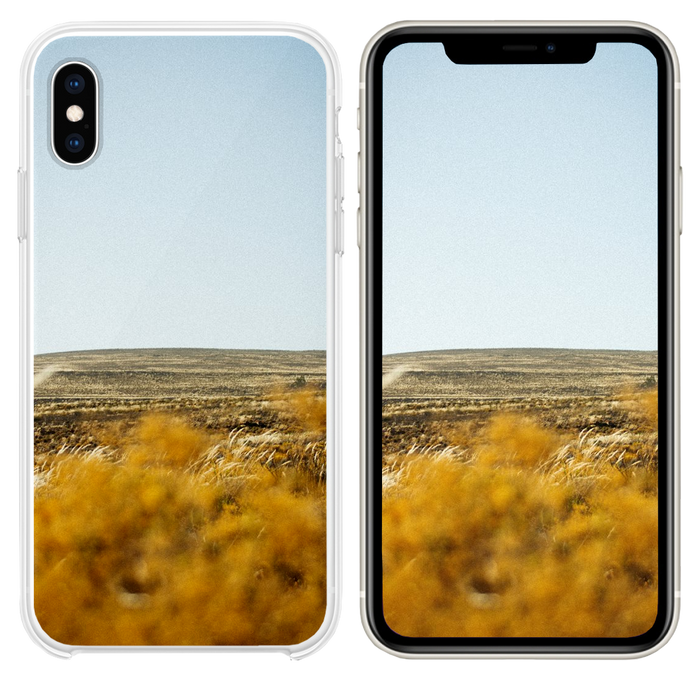 wheat field iPhone XS case