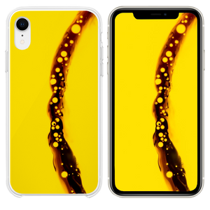 yellow background iPhone XR case