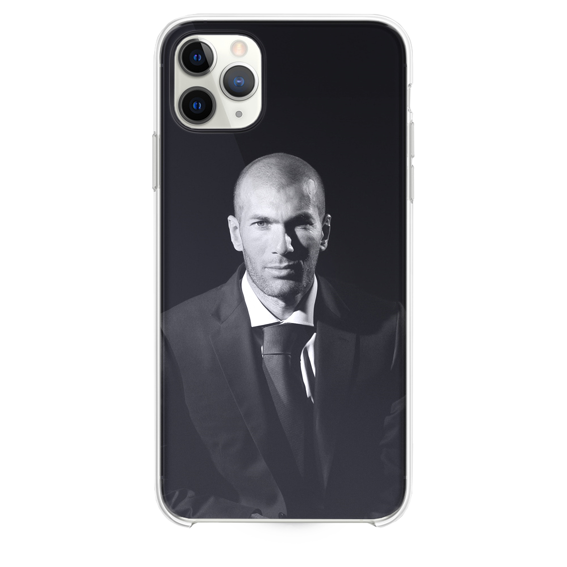 Zidane Real Madrid Soccer Dark Iphone 11 Pro Max Case Case And