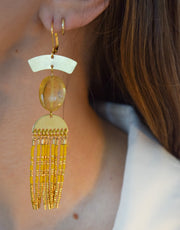 Luxe Citrine and Gold