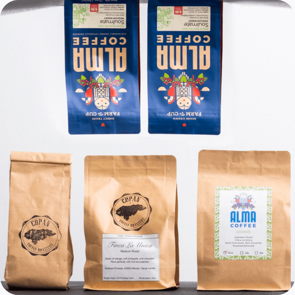 The Story of Alma Coffee Told Through Our Bag Design