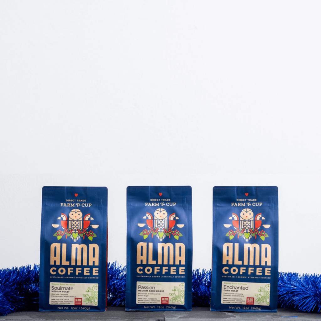 a 3 month gift subscription of alma coffee
