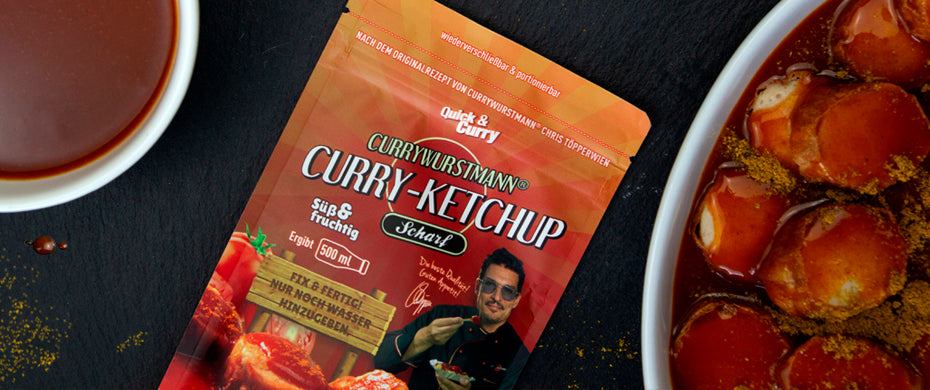 Currywurstmann Curry Ketchup