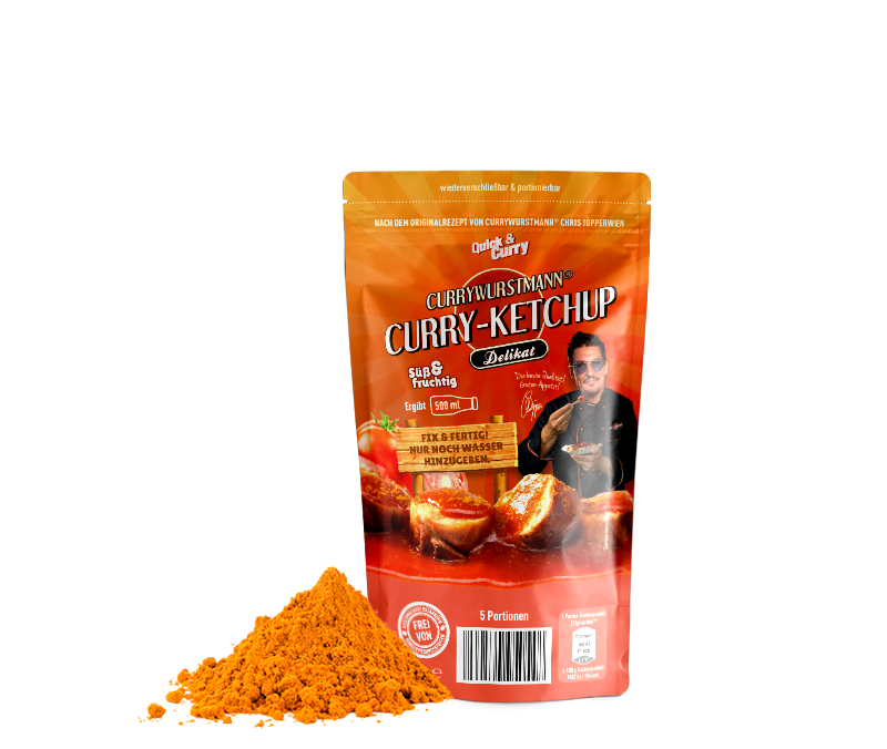 Currywurstmann® Curry-Ketchup - Quick&Curry