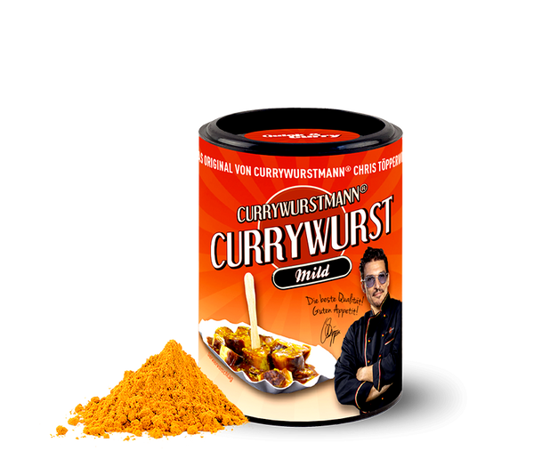 Currywurstmann® Currywurst-Gewürz - Quick&Curry