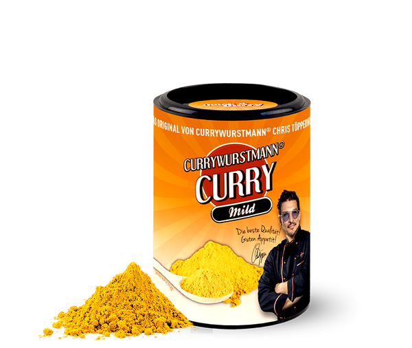 Currywurstmann® Curry-Gewürz - Quick&Curry