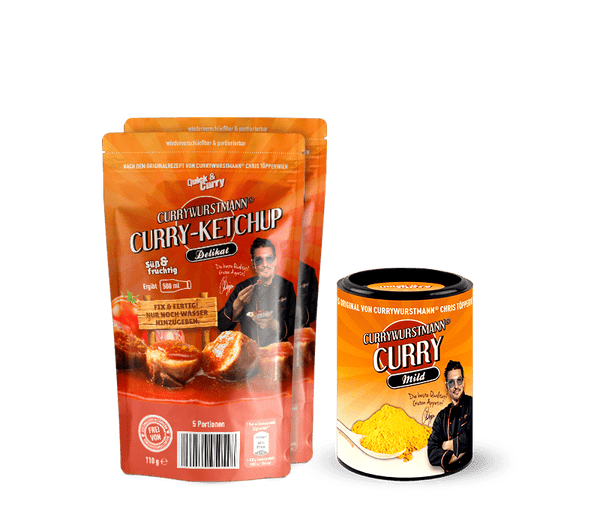 Currywurstmann® Currywurst Paket - Quick&Curry