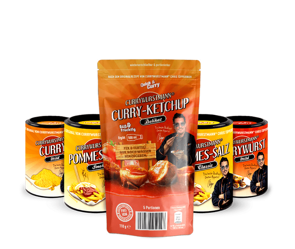 Currywurstmann® Paket Mild - Quick&Curry