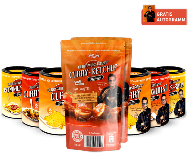 Currywurstmann® Komplett-Paket - Quick&Curry