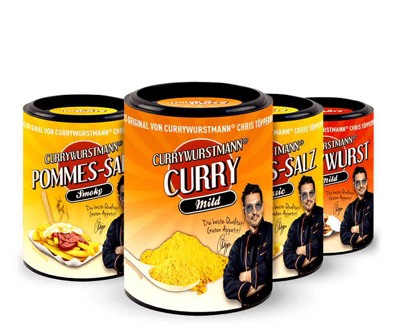 Currywurstmann® Gewürze Paket Mild - Quick&Curry