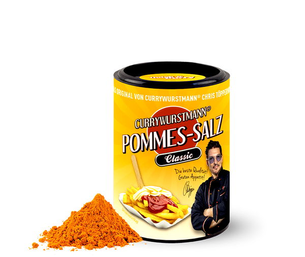 Currywurstmann® Pommes-Salz - Quick&Curry