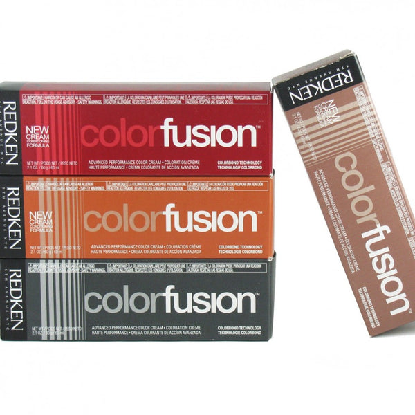 Redken ColorFusion 2.1 oz 5BGR / Brown/Gold/Red