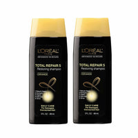 L'Oreal Total Repair 5 Restoring Shampoo Travel Size 3 oz - 2 Pack