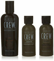 American Crew Travel Grooming Kit 3 Count
