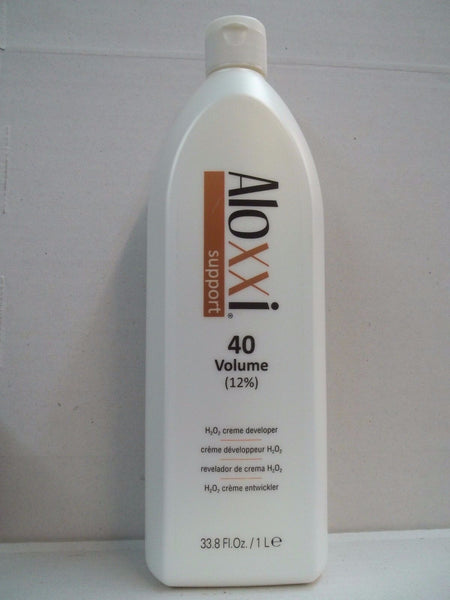 Aloxxi H202 Creme Developer 33.8 oz - 40 Volume 12%