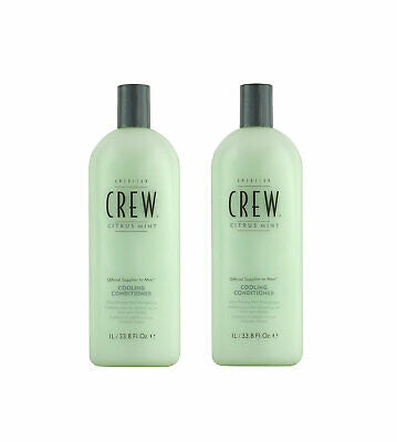 American Crew Cooling Conditioner Citrus Mint 33.8oz - 2 Pack