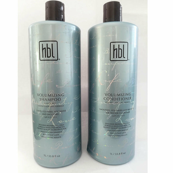 HBL Volumizing Shampoo & Conditioner 33.8oz Set / Duo