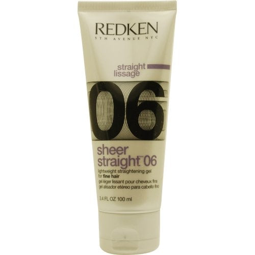 Redken Sheer Straight 06 Lightweight Straightening Gel 3.4 oz.