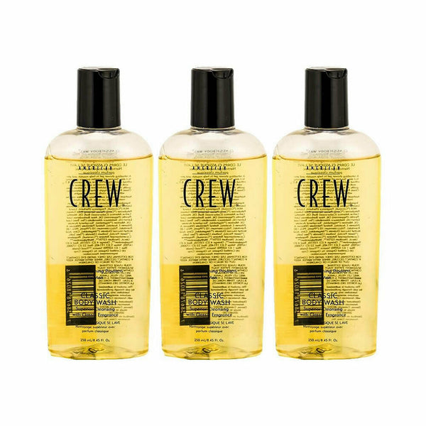 American Crew Classic Body Wash 8.45 oz - 3 Pack