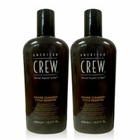 American Crew Power Cleanser Style Remover 15.2 oz - 2 Pack