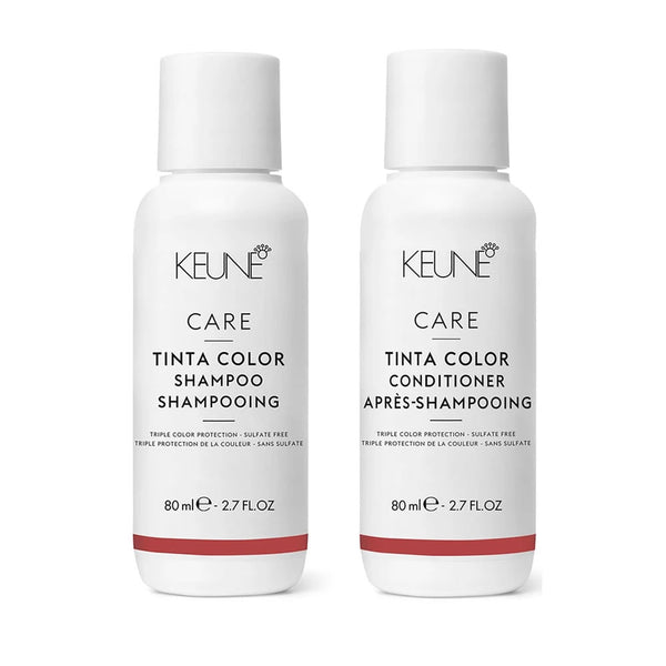 Keune Care Tinta Color Shampoo & Conditioner 2.7 oz Travel Size Duo Set