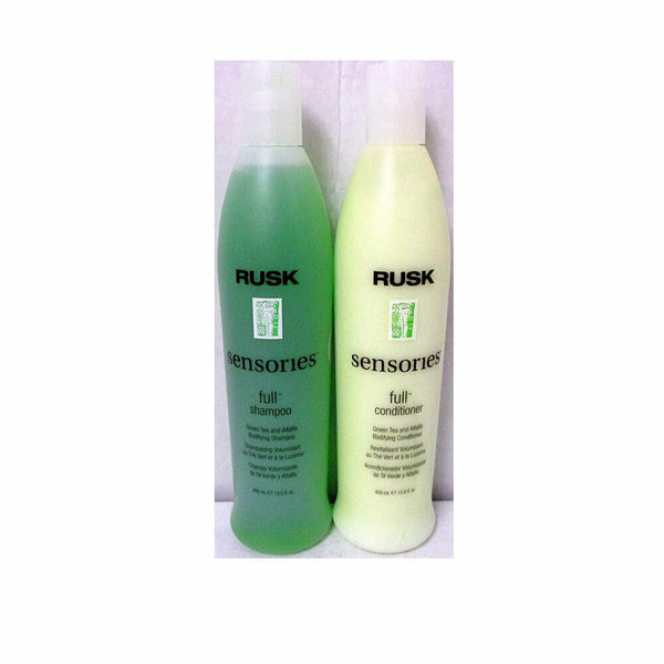 Rusk Sensories Full Bodifying Shampoo & Conditioner 13.5 oz Set / Duo