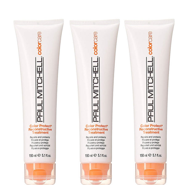 Paul Mitchell Color Protect Reconstructive Treatment 5.1 oz - 3 Pack