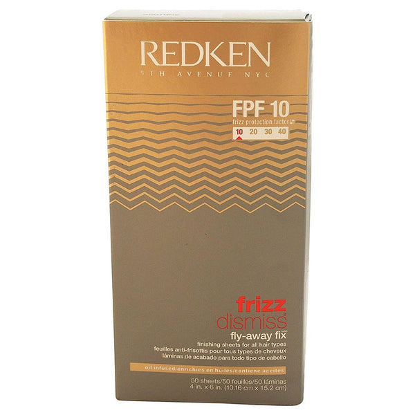 Redken Frizz Dismiss Fly Away Fix FPF 10 - 50 Sheets