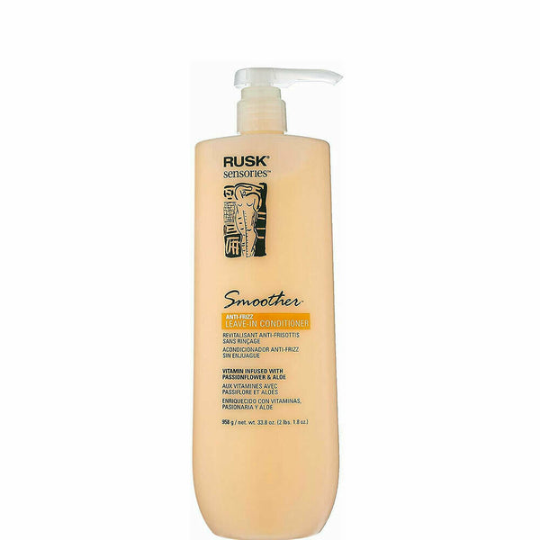 Rusk Sensories Smoother Passionflower & Aloe Leave-In Conditioner 33.8 oz