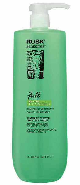 Rusk Sensories Full Green Tea and Alfalfa Bodifying Shampoo 33.8 oz