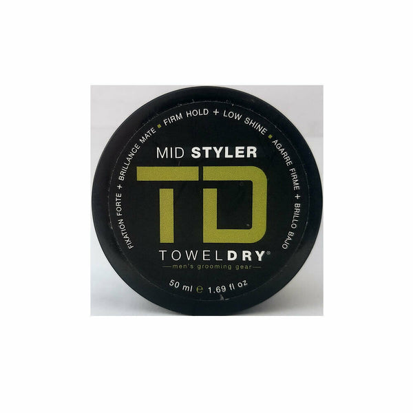 Towel Dry Mid Styler for Men 1.68 oz