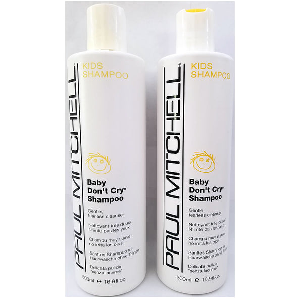 Paul Mitchell Baby Don't Cry Shampoo 16.9 oz - 2 Pack