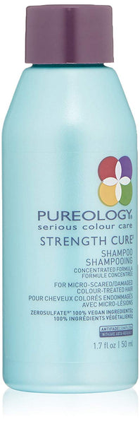 Pureology Strength Cure Shampoo travel size 1.7 ( 3 Pack)