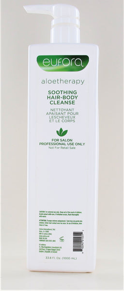Eufora Aloetherapy Soothing Hair-body Cleans 33.8 oz