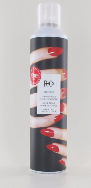 R+Co Vicious Strong Hold Flexible Hair Spray 9.5oz
