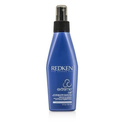 Redken Extreme Cat Anti Damage Protein Reconstructing Rinse Off Treatment 5 oz