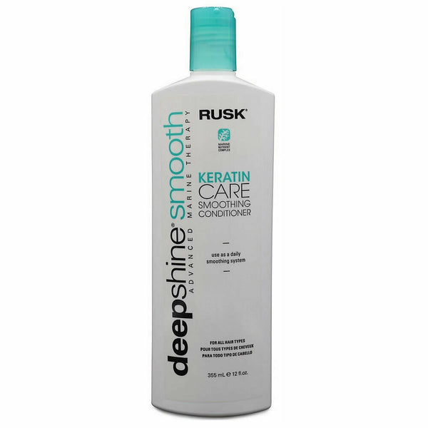 Rusk Deep Shine Smooth Keratin Care Smoothing Conditioner 12 oz