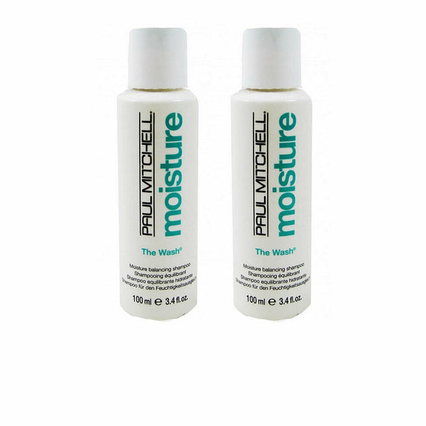 Paul Mitchell Moisture The Wash 3.4oz 2 Pack
