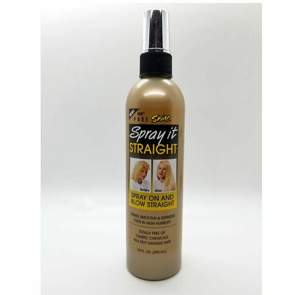 Hask Pure Shine Spray it Straight 10 oz