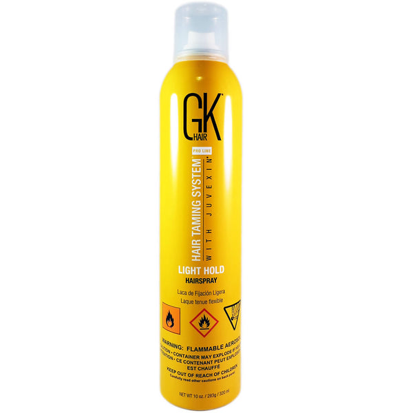 GKHair Light Hold Hairspray 10 oz