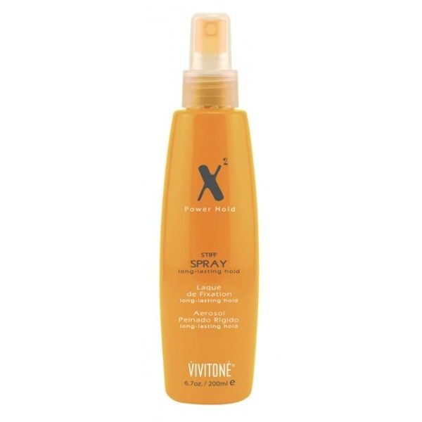 Vivitone X2 Power Hold Stiff Spray Long-Lasting Hold 6.7 oz