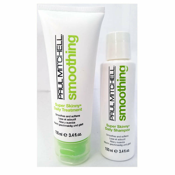Paul Mitchell Smoothing Super Skinny Shampoo & Conditioner 3.4 oz Set / Duo