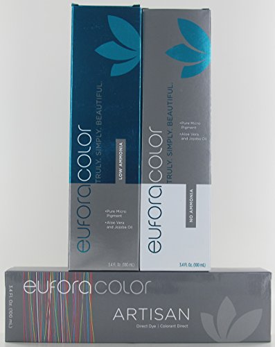 Eufora Color Artisan Direct Dye, CHRYSTAL CLEAR, 3.4 oz