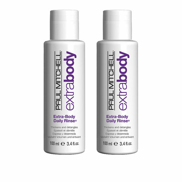 Paul Mitchell Extra Body Daily Rinse 3.4 oz - 2 Pack Travel Size