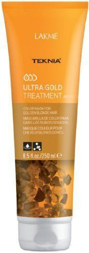 Lakme Teknia Ultra Gold Treatment Color Mask For Golden Blonde Hair 8.5 oz
