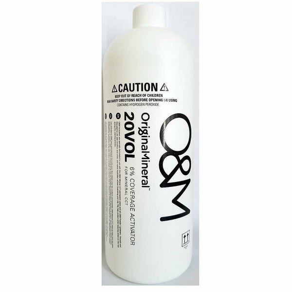 O&M Original Mineral 20VOL 6% Coverage Activator 33.8oz