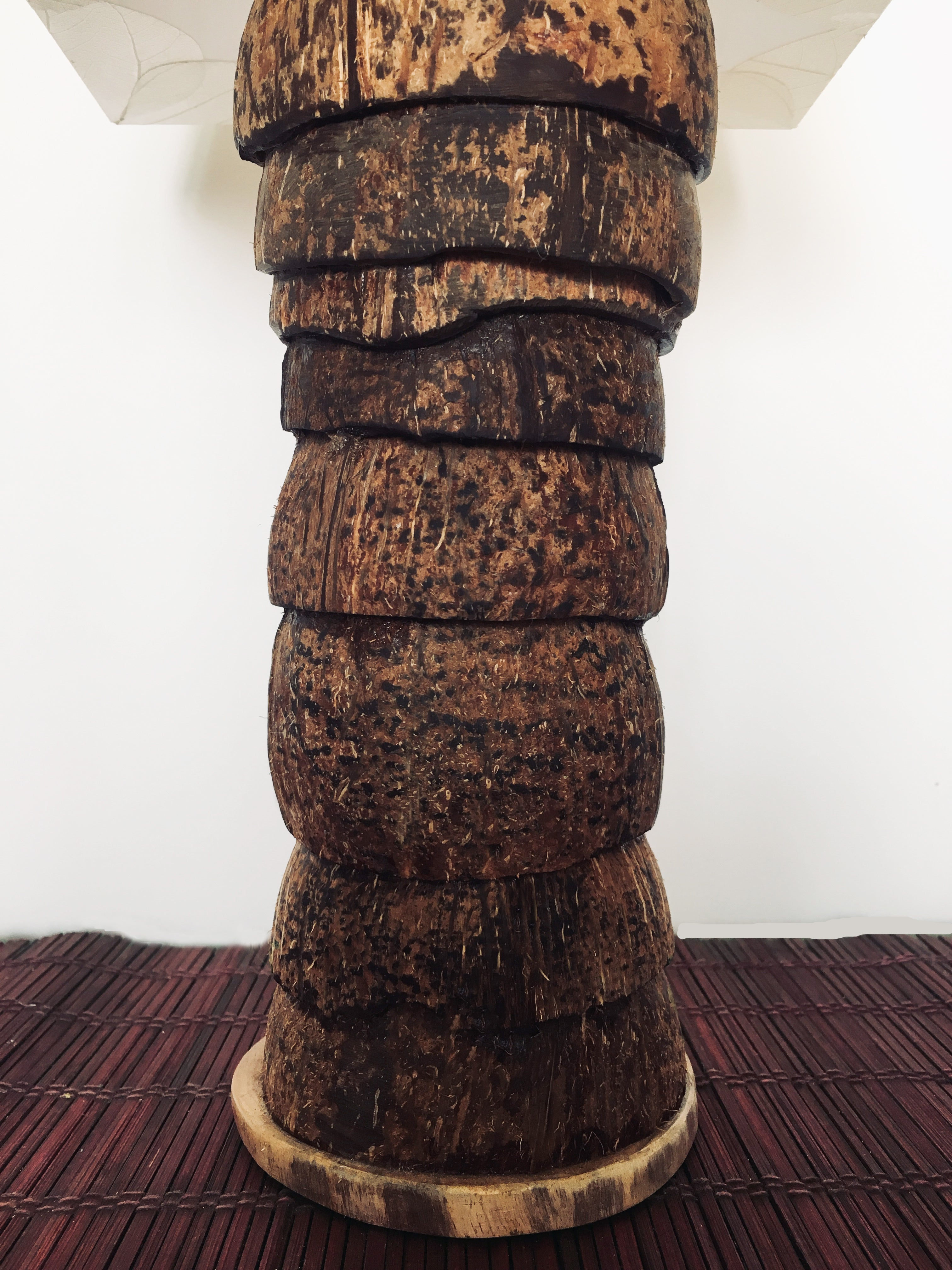 coconut shell lamp