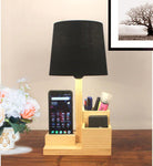 Table organizer lamp