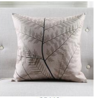 Botanical cushion covers